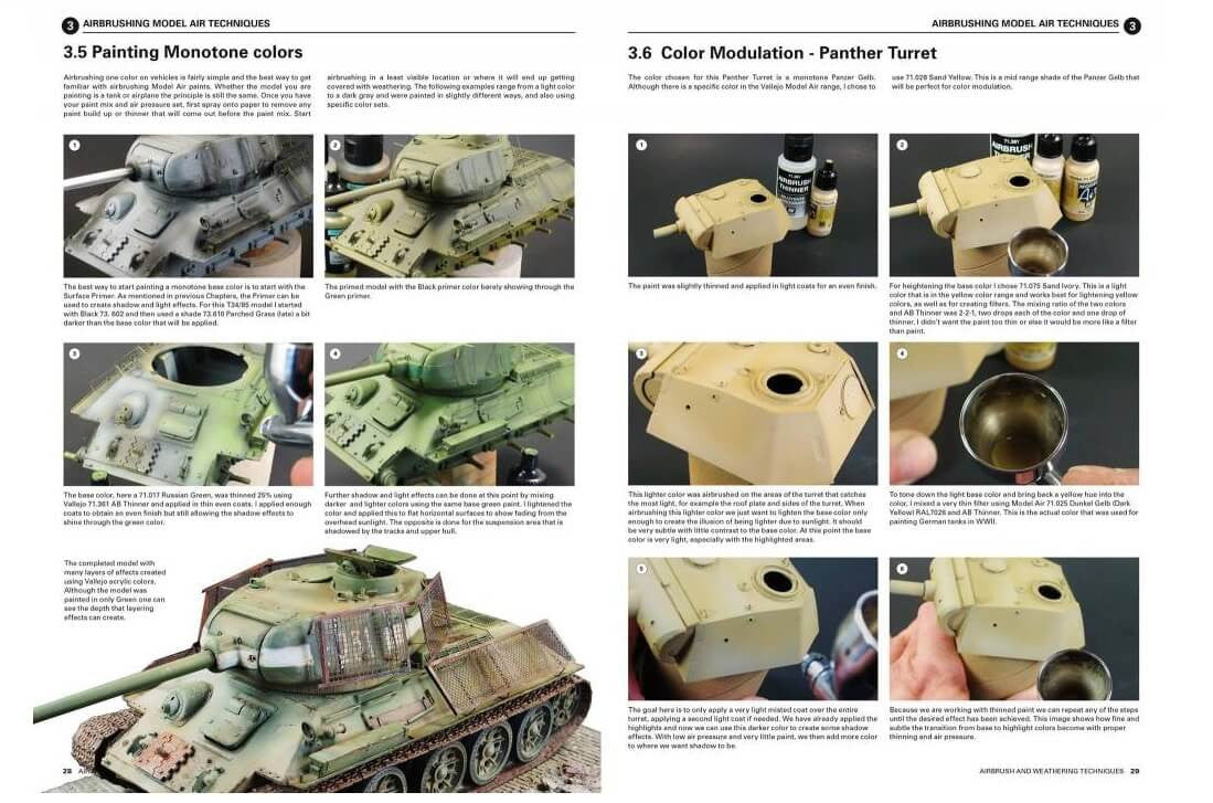 Vallejo book airbrush and weathering techniques panzer models geenschuldenfo Images