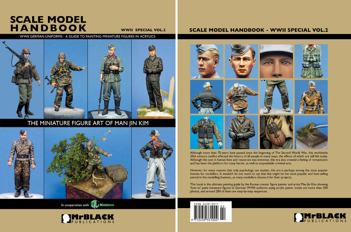 Black Publications Scale Model Handbook WWII Special Vol.04 84 pages Mr