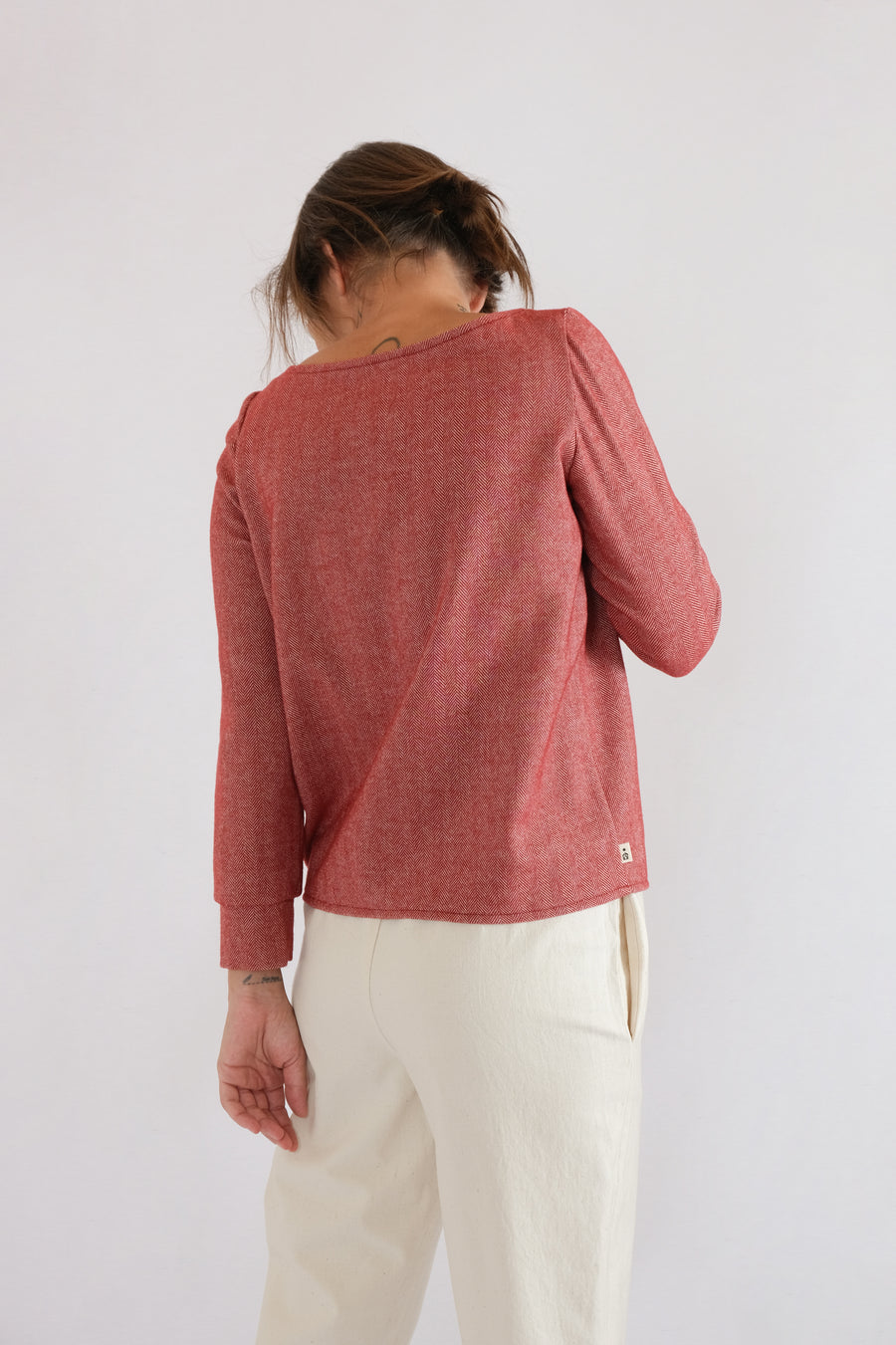 MID SWEATER in high-segment wool