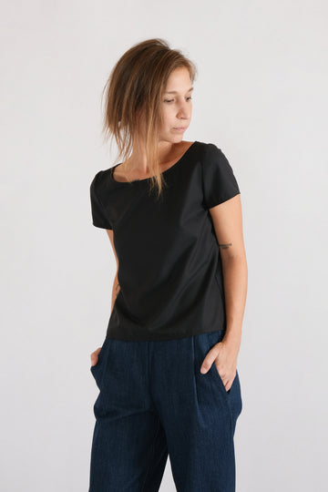 MID TEE in high-segment viscose