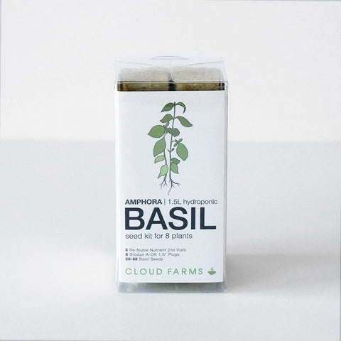 Basil Seed Kit - 8 Plants (free shipping)
