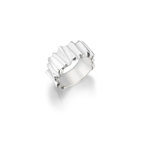 Earth Collection Ring (ELS_01)-925.Kt. Silver