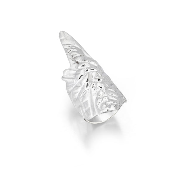 Earth Collection Warrior Ring (EWS_01)-925.Kt. Silver