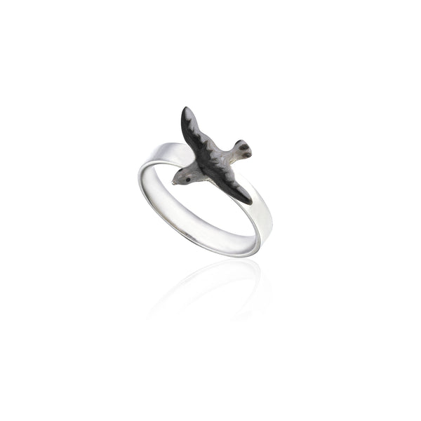 Seagull Istanbul Small Ring - 925 kt. Silver with Enamel