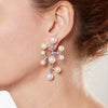 Earring - 925.Kt. Silver with Pearl