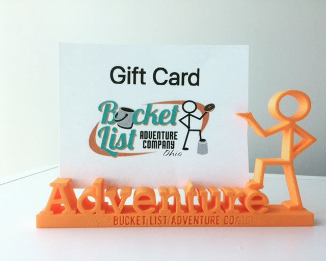 Adventure Gift Card and Photo Holder