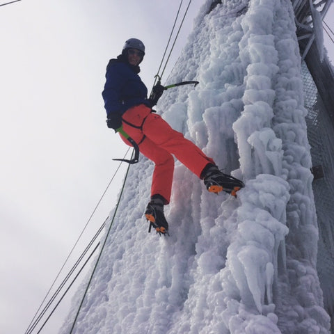 Ice Climbing Adventure - Sunday, January 14, 2018