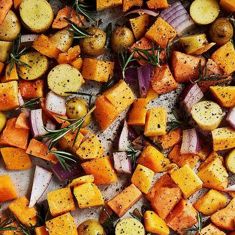 Bulk Roasted Seasonal Vegetables - V, GF