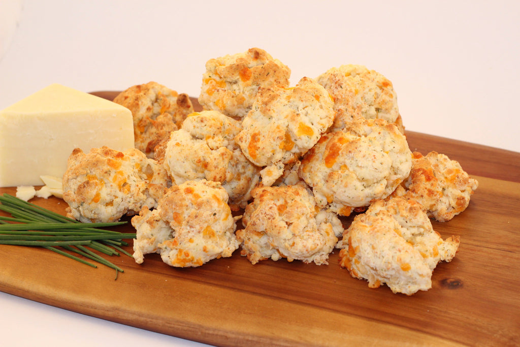 Herb and Cheddar Biscuits - VG