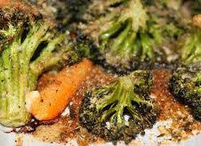 Roasted Carrots and Broccoli - V, GF