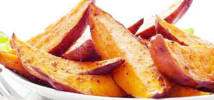 Sweet Potato Wedges - GF, V