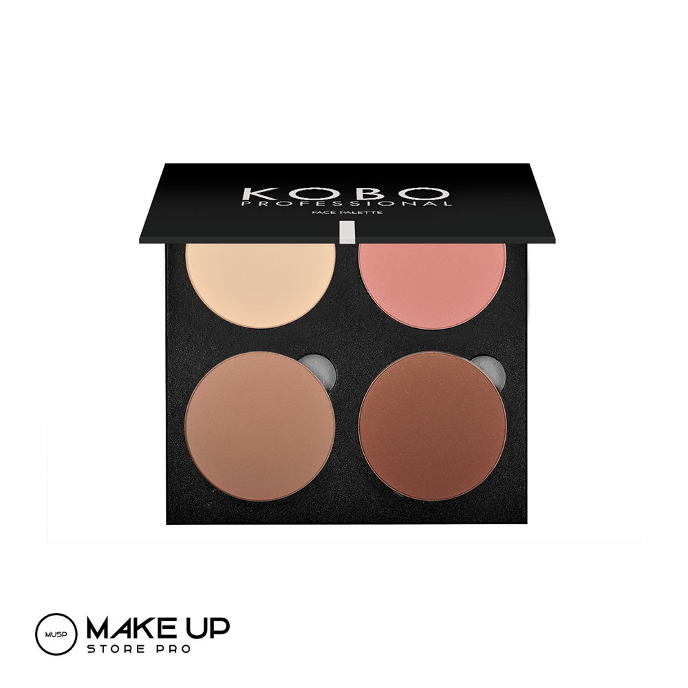 KOBO Bronze N Blush Sculpting Palette 08