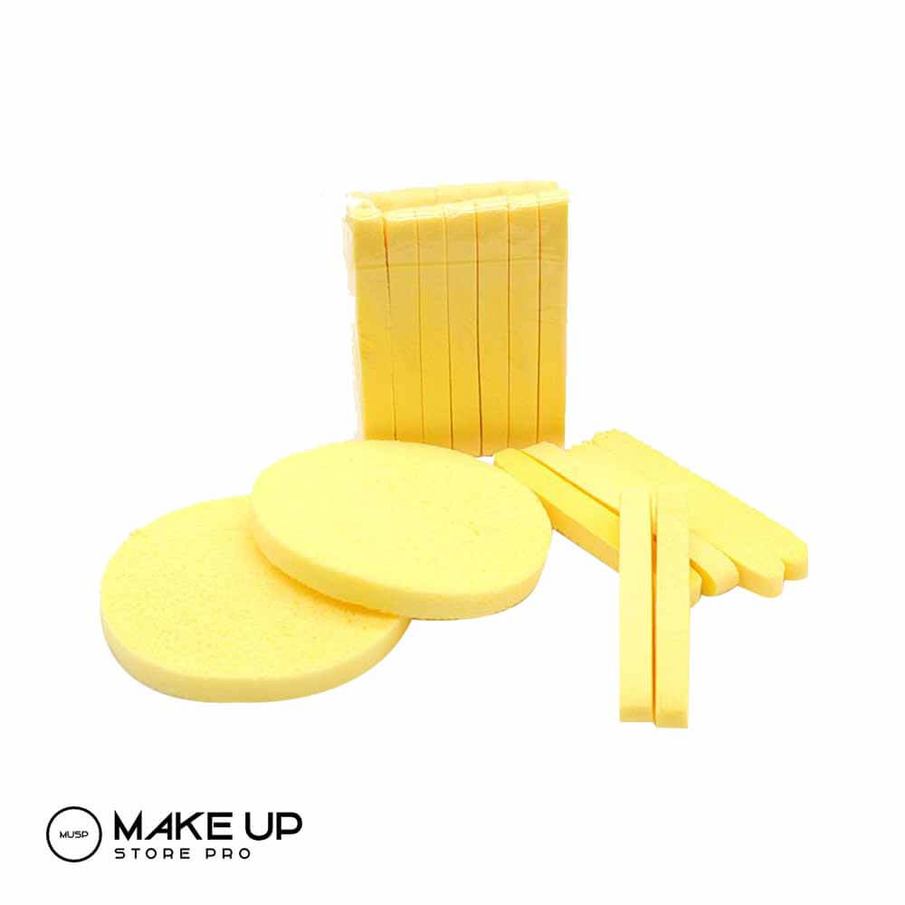 12 Expanding Compressed Facial Sponge