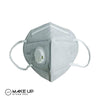 KN95/N95 Carbon Activated Filter Mask 6 Layer Filter Respirator