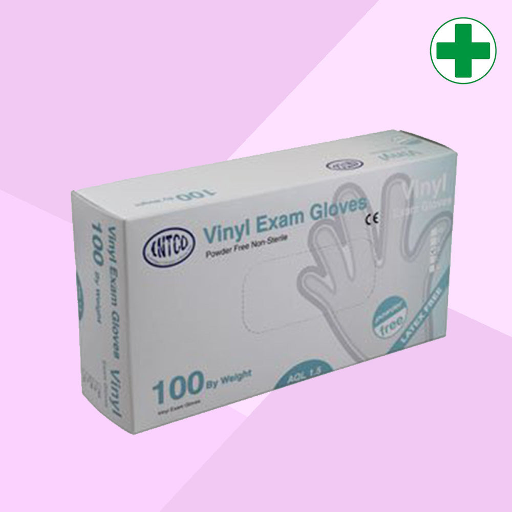 Clear Vinyl Exam Gloves AQL 1.5 (Medical Grade)