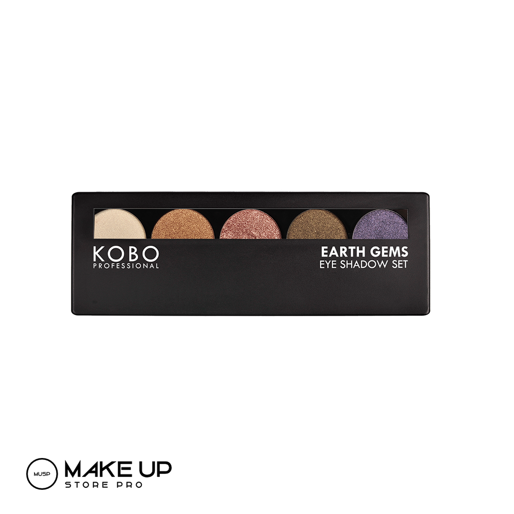KOBO Earth Gems Eyeshadow Set