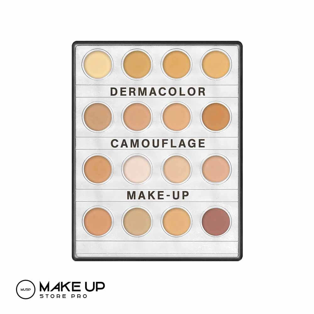Derma colour cream makeup palette small - Fair