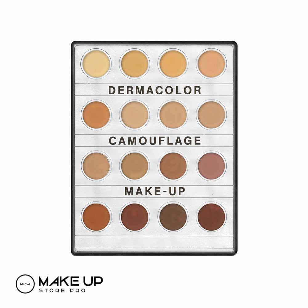 Derma colour cream makeup palette small - Medium