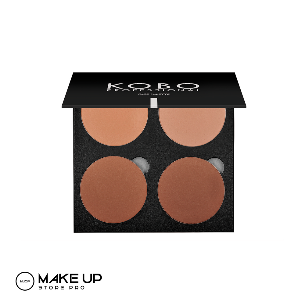 KOBO Mineral Series Face Palette 09 Natural Glow