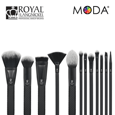 Royal and Langnickel Full Face Wrap Brush Kit 12 Piece.