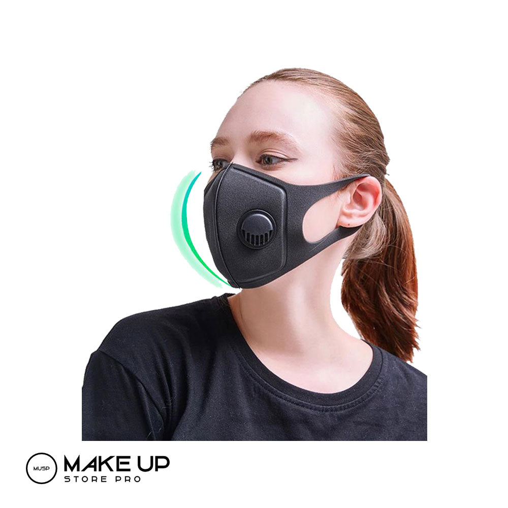 Foam Mask PM2.5 With Exhale Valve, Washable - Reusable