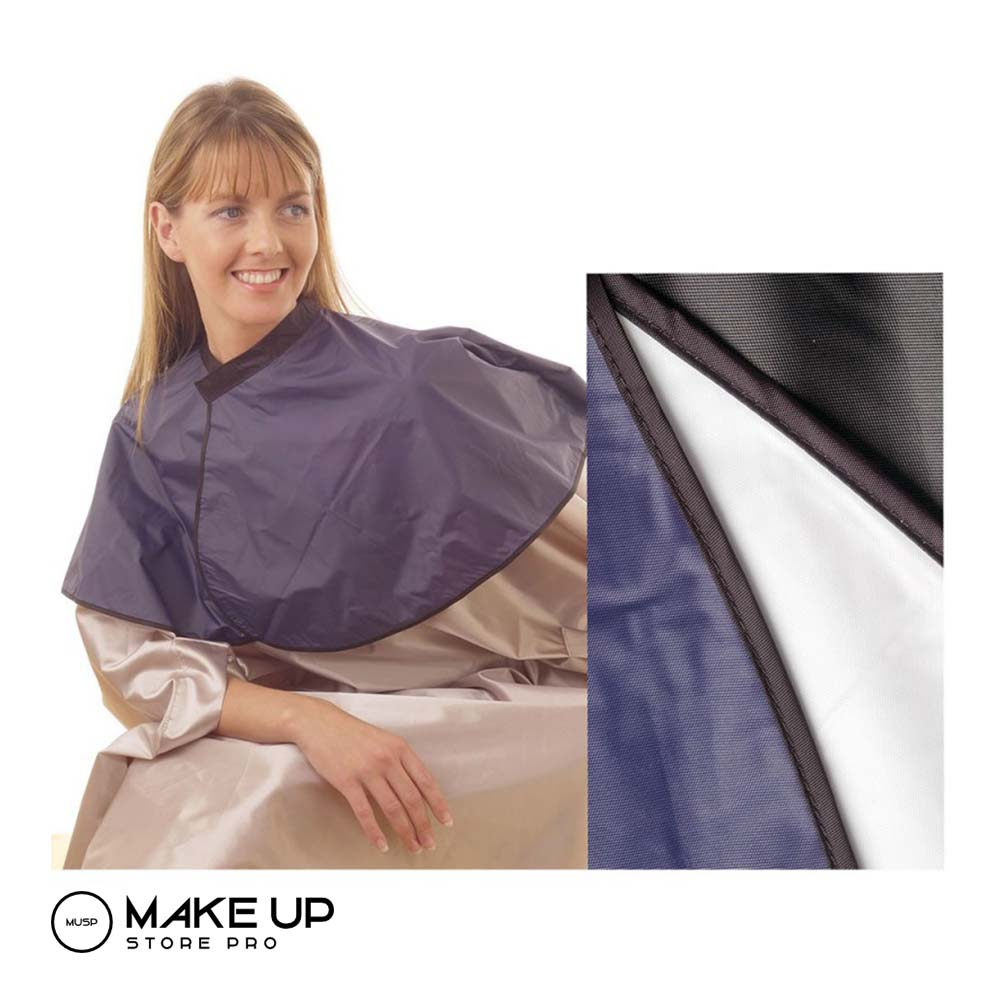 PVC Shoulder Tint Cape Black