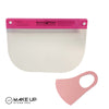Pink Beauty Shield & Mask, Washable - Reusable
