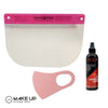 Pink Beauty Shield & Mask & Shield Cleaner, Washable - Reusable