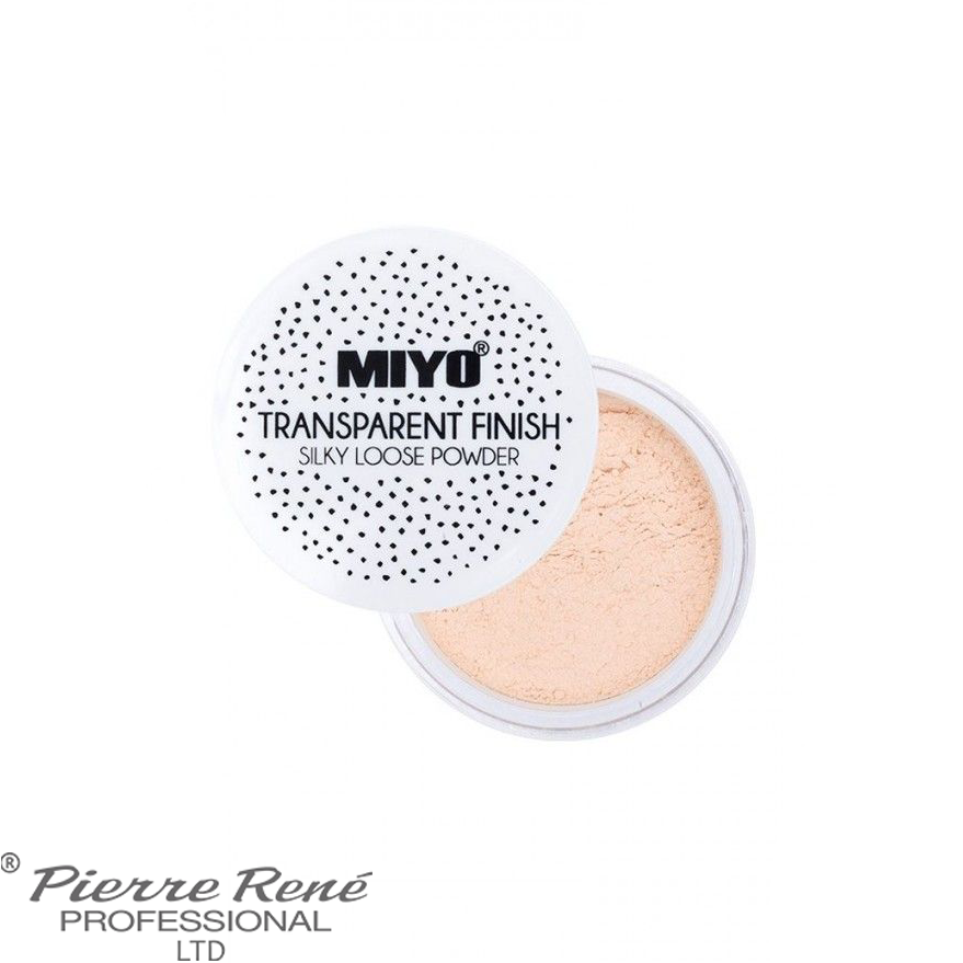 Transparent Finish! Loose Powder