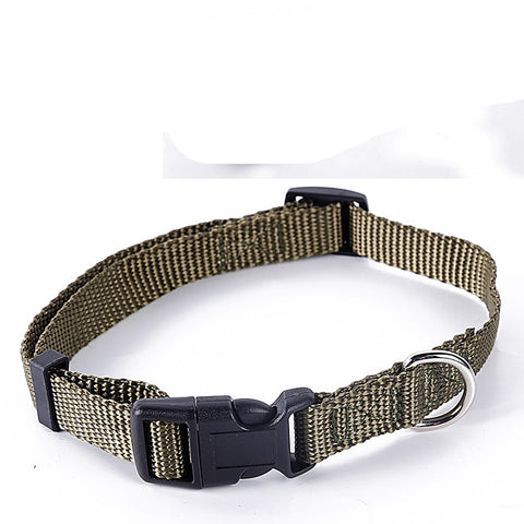Army Green Nylon Collar