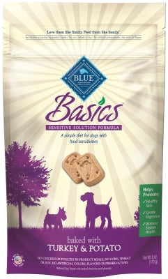 BASICS BISCUITS TURKEY/POTATO