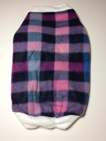 Pink Plaid Fleece Shirt