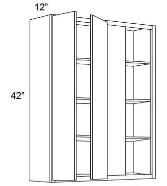 "42"" Blind Wall Corner Cabinets"