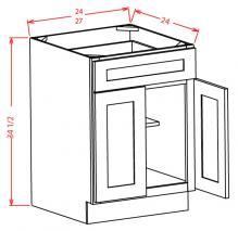 Base Cabinet 1 drawer, 2 doors