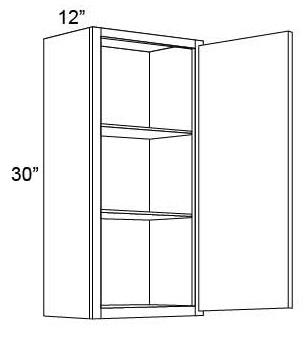 "30"" Wall Cabinet with One Door"