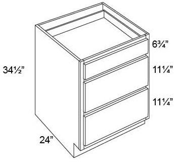 Base 3 Drawer Cabinet
