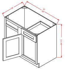 Blind Base Cabinets 1 door and 1 drawer