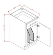 Tray Divider Kit for Base Cabinet