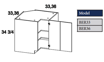 Easy Reach Base Cabinet