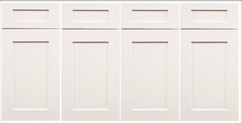 Jasper White Shaker Sample Door