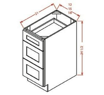 Vanity 3 Drawer Base cabinet
