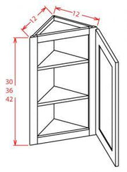 Angle Wall Cabinet
