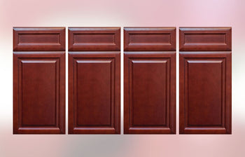 Burgundy Glaze Sample Door