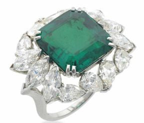The Showstopper: Harry Winston's Emerald Ring