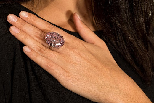 The Pink Star is the Star at Sotheby's