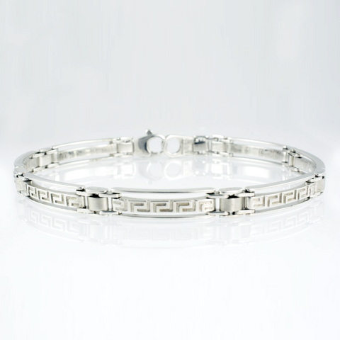 14 Kt White Gold Design Ladies' Bracelet