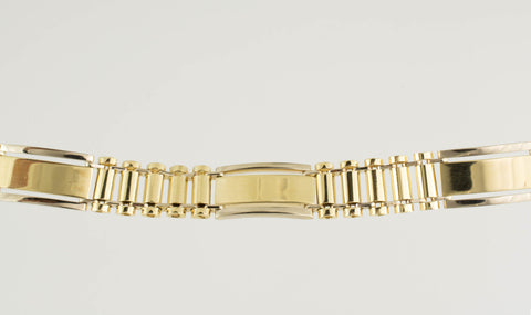 14 Kt Yellow Gold Men's Bracelet