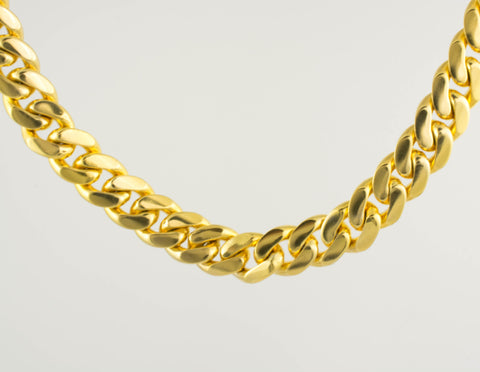 14 Kt Solid Gold Hammer Men's Bracelet
