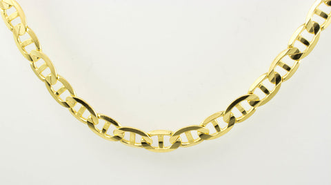 14 Kt Yellow Gold Italian Men's Chain