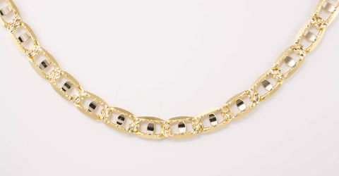 14 Kt Yellow Gold Men's Italian Chain